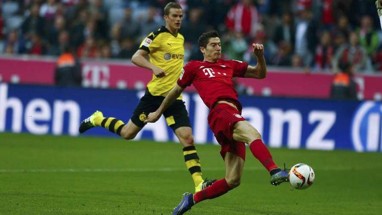 Бавария боруссия дортмунд видео голов пенальти