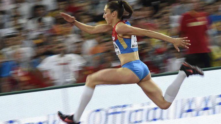 Екатерина КОНЕВА на чемпионате мира в Пекине. Фото AFP