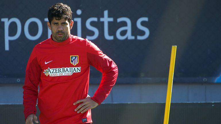 """Для того чтобы стать в """"Атлетико"""" своим, Диегу КОСТА потратил в общей сложности шесть лет. Фото AFP"""