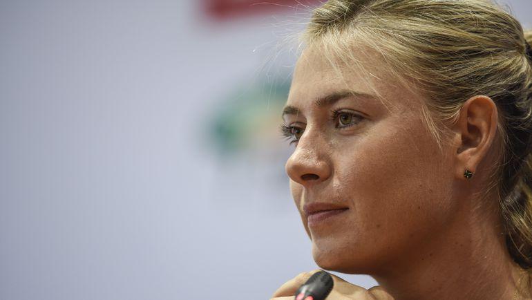 Марию ШАРАПОВУ пригласят для участия в St.Petersburg Open. Фото AFP