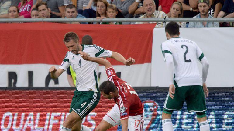 Северная Ирландия на удивление легко отобралась на Euro-2016. Фото REUTERS
