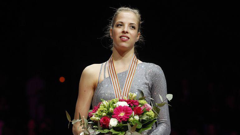 Каролина КОСТНЕР на чемпионате мира-2012. Фото AFP