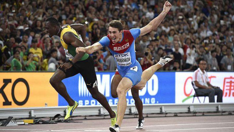Сергей ШУБЕНКОВ побеждает в финале чемпионата мира-2015 в Пекине. Фото AFP