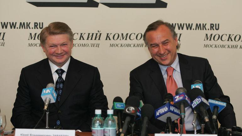 Юрий ЗАВАРЗИН и Алексей ФЕДОРЫЧЕВ. Фото «СЭ»