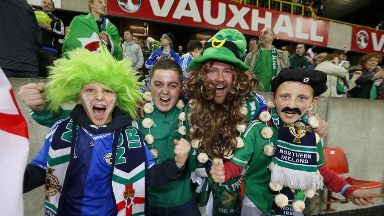 В Северной Ирландии праздник. Фото REUTERS