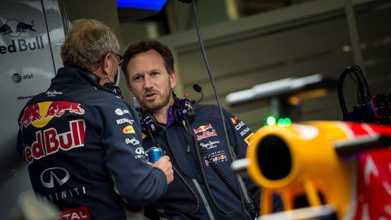 """Глава """"Ред Булла"""" Кристиан ХОРНЕР пока еще не знает, будет ли австрийская команда выступать в """"Формуле-1"""" в 2016 году. Фото AFP"""