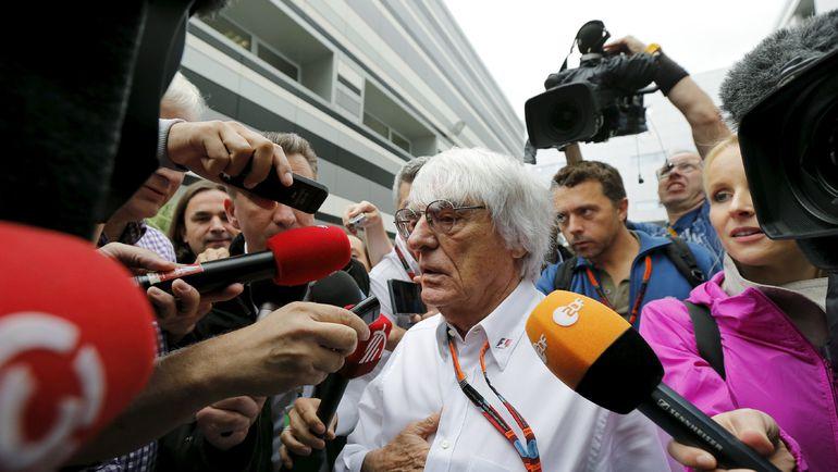 """Сегодня. Сочи. Генеральный промоутер """"Формулы-1"""" Берни ЭККЛСТОУН. Фото REUTERS"""