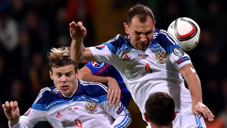 Сергей ИГНАШЕВИЧ поучаствовал в обоих голах сборной России. Фото AFP