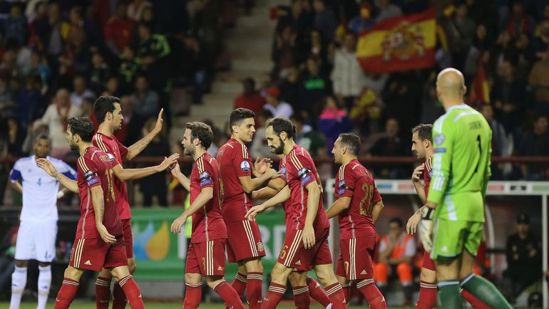 Испания - Люксембург - 4:0.