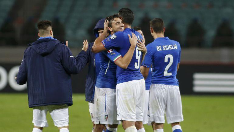 Азербайджан - Италия - 1:3.