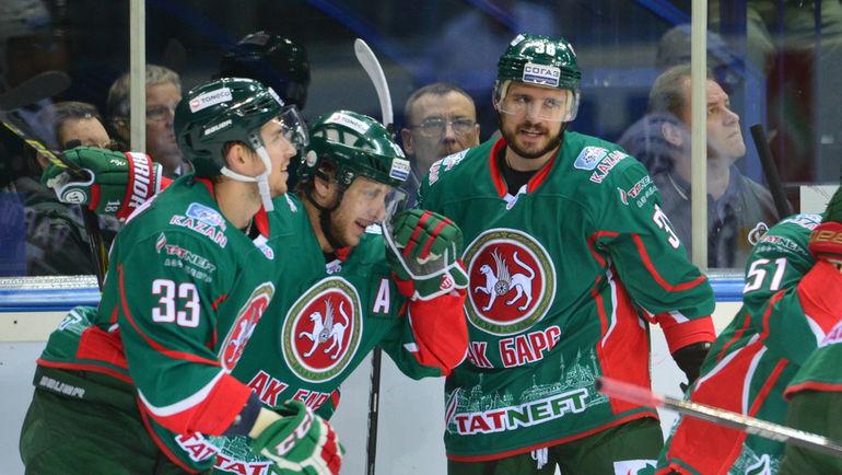 """Осенью """"Ак Барс"""" не всегда показывает стабильный хоккей. Фото photo.khl.ru"""