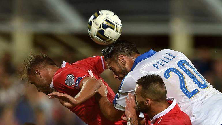 Даже Мальту итальянцы обыграли с минимальным перевесом. Фото AFP