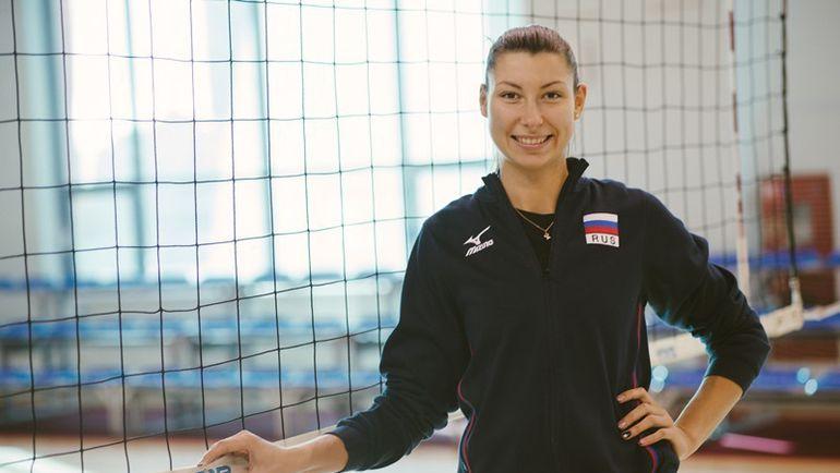 Ирина ЗАРЯЖКО перед тренировкой. Фото Никита ПОЛОСОВ