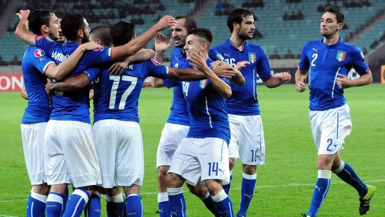 Сборная Италии гарантировала себе попадание на Euro, но обещает бороться и в заключительном матче с Норвегией, очень важном для соперника. Фото AFP