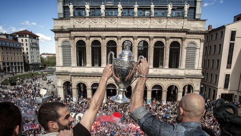 Лионцы очень любат футбол. Фото AFP
