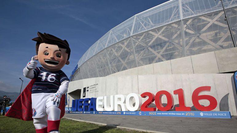 Ницца готова к Euro уже сегодня. Фото AFP