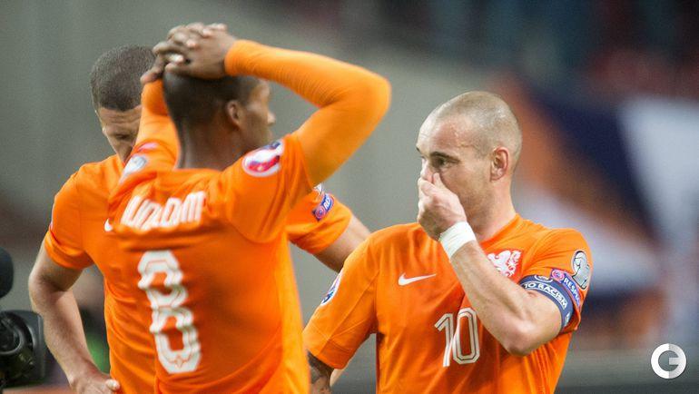 Голландия – Чехия – 2:3.