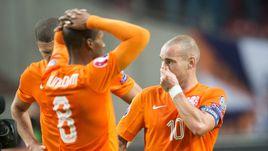 Понедельник. Амстердам. Голландия - Чехия - 2:3. Горечь игроков