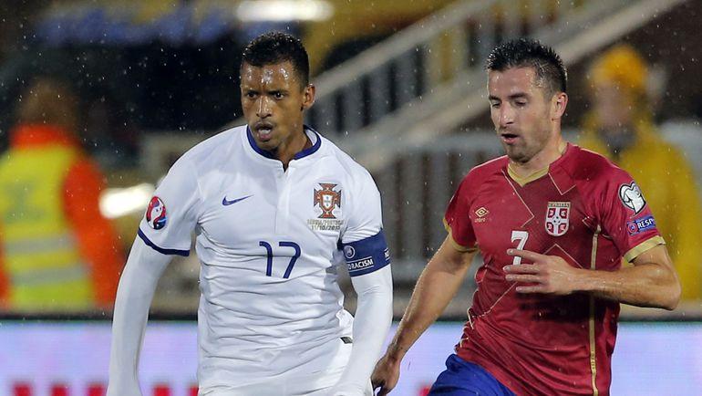 Зоран ТОШИЧ (справа) не поедет на чемпионат Европы. Фото AFP