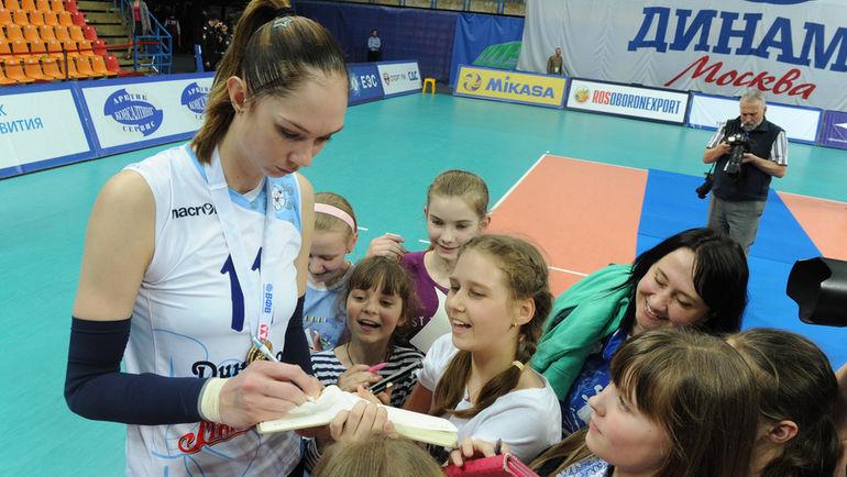 Пока казанские болельщики Екатерину ГАМОВУ не увидят. Фото Федор УСПЕНСКИЙ, «СЭ»