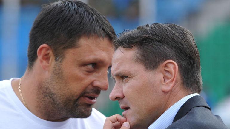 Игорь ЧЕРЕВЧЕНКО (слева) и Дмитрий АЛЕНИЧЕВ. Фото Татьяна ДОРОГУТИНА
