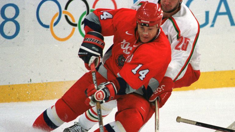 1998 год. Герман ТИТОВ на Олимпиаде в Нагано. Фото Андрей ГОЛОВАНОВ