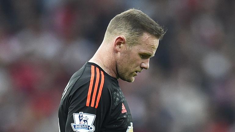 """Уэйн РУНИ вернулся в """"Манчестер Юнайтед"""" из сборной Англии с небольшим повреждением. Фото REUTERS"""