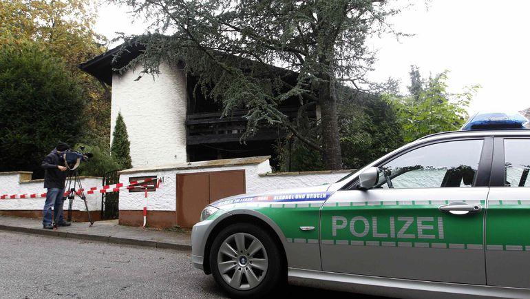 20 сентября 2011 года. Дом Брену после пожара. Фото REUTERS