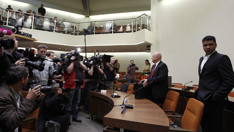 13 июня 2012 года. БРЕНУ перед судом. Фото REUTERS
