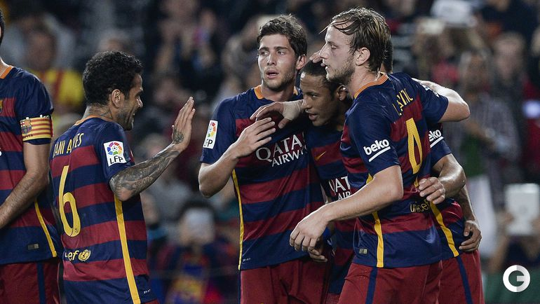"""""""Барселона"""" – """"Райо Вальекано"""" – 5:2."""