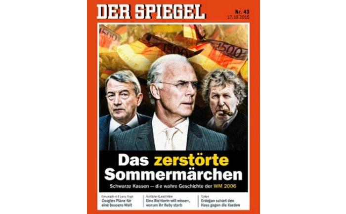 Передовица скандального номера Der Spiegel о ЧМ-2006.