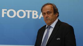 Глава УЕФА Мишель ПЛАТИНИ.
