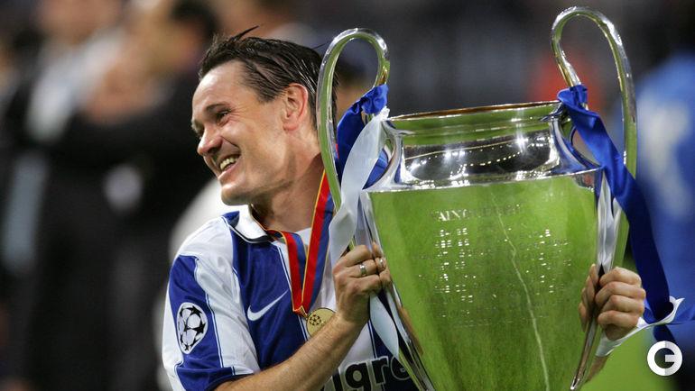 26 мая 2004 года. Дмитрий АЛЕНИЧЕВ - победитель Лиги чемпионов.