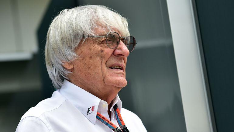 Исполнительный директор Formula One Group Берни ЭККЛСТОУН. Фото AFP