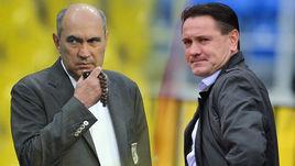 Курбан БЕРДЫЕВ (на фото слева) и Дмитрий АЛЕНИЧЕВ были кандидатами на пост главного тренера