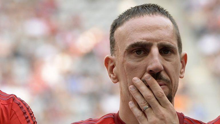 Франк РИБЕРИ приступил к индивидуальным тренировкам после травмы. Фото AFP