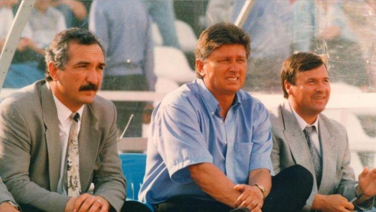Рохус ШОХ (слева) и главный тренер
