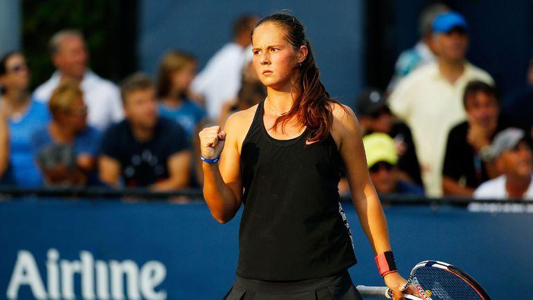 Дарья КАСАТКИНА стала российским открытием на US Open. Фото AFP