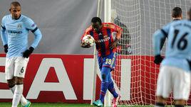 В двух прошлых розыгрышах Лиги чемпионов нападающий ЦСКА Сейду ДУМБЬЯ 5 раз поражал ворота команды из Манчестера.