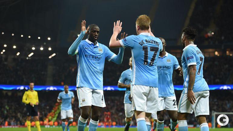 """Манчестер Сити"" – ""Севилья"" – 2:1."