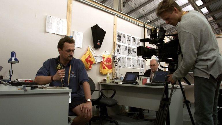 2000 год. Виктор ГУСЕВ в олимпийском Сиднее. Фото Александр ВИЛЬФ