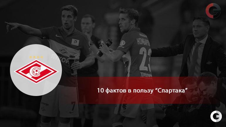 """10 фактов в пользу """"Спартака""""."""