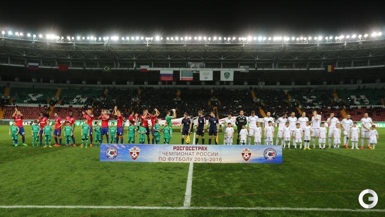 """""""Терек"""" - ЦСКА - 0:0."""