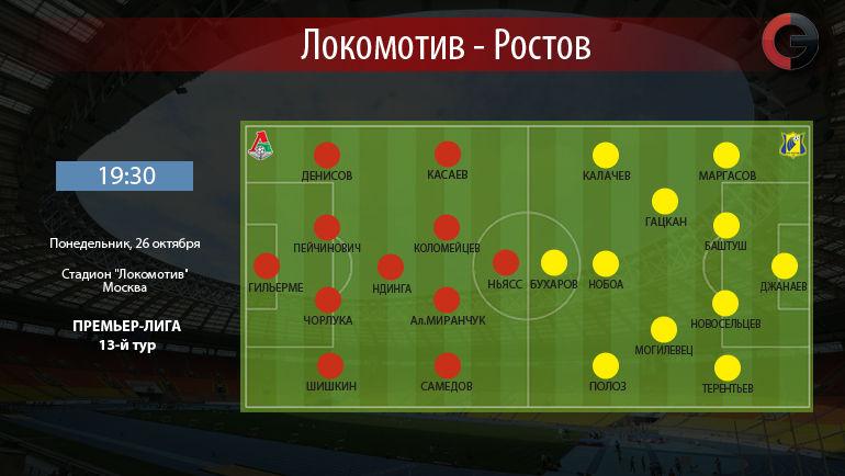 """""""Локомотив"""" vs """"Ростов"""". Фото """"СЭ"""""""