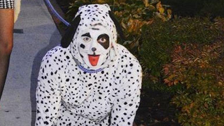 """Ти. Джей. ОШИ на командном праздновании """"Вашингтоном"""" Хэллоуина. Фото fbcdn.net"""