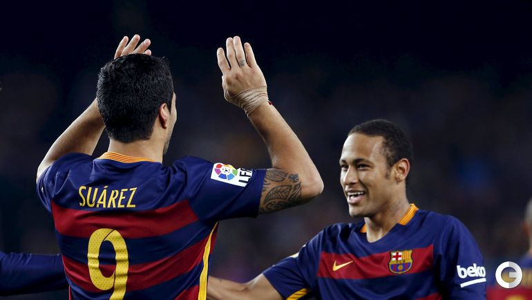 """Барселона"" - ""Эйбар"" - 3:1."