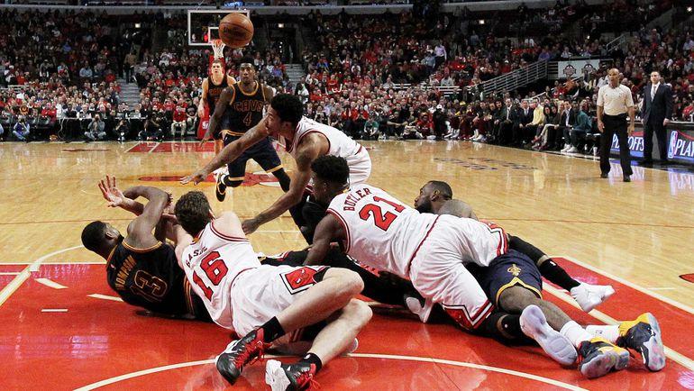 """У """"Чикаго"""" должно хватить глубины состава для того, чтобы составить конкуренцию """"Кливленду"""" на """"Востоке"""". Фото AFP"""