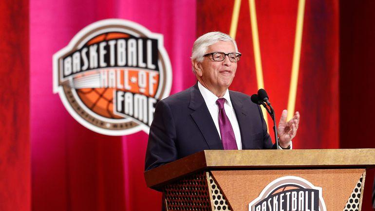 Бывший комиссионер НБА Дэвид СТЕРН. Фото AFP