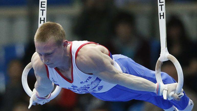 Денис АБЛЯЗИН завершил выступления в вольных упражнениях на 187-м месте в квалификации. Теперь он продолжит борьбу в упражнениях в опорном прыжке. Фото REUTERS