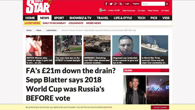 Daily Star.